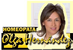 Homeopata Olga Hernández